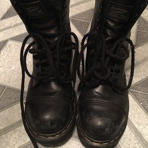 Dr Martens Boots Steel Toe Size 9